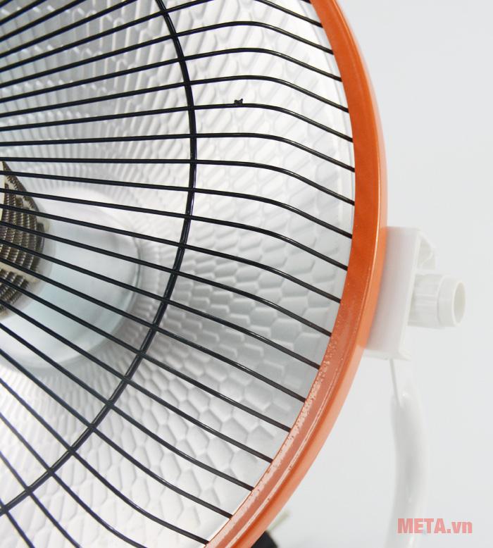 Sưởi điện Mayso - Ceramic Sunhouse SHD7017 sưởi ấm bằng sợi phát nhiệt Ceramic