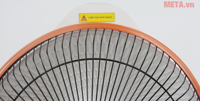 Sưởi điện Mayso - Ceramic Sunhouse SHD7017 phối viền cam nổi bật