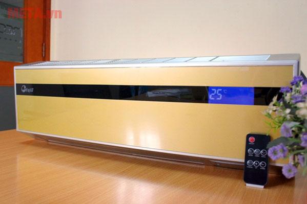 Máy sưởi điều hòa Ceramic treo tường FujiE CH-2500 có thiết kế chắc chắn với chất liệu cao cấp