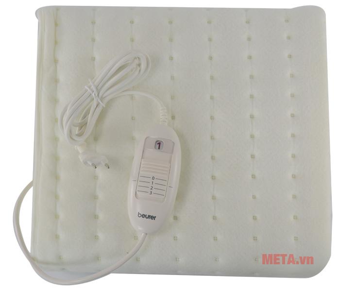 Đệm điện đơn Beurer TS19 có bảng điều khiển bằng nhựa
