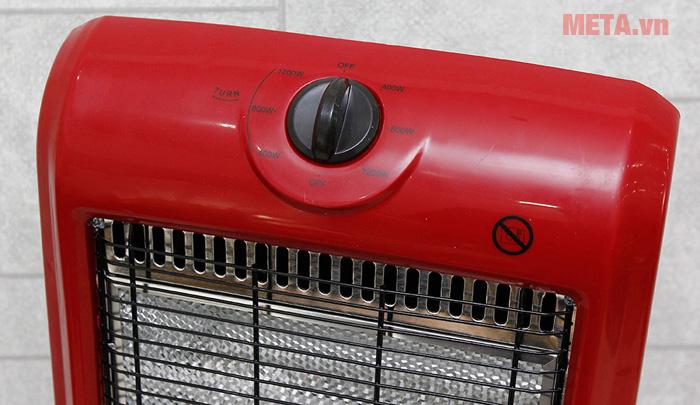 Quạt sưởi 3 bóng Halogen Sunhouse SHD7016 tiết kiệm điện