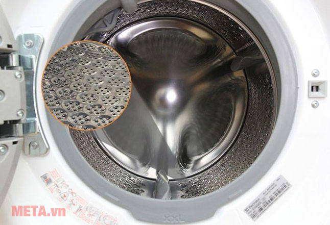 Máy giặt cửa trước 11kg Electrolux EWF14113 có lồng giặt bằng thép không gỉ