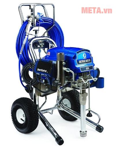 Graco 695PC sử dụng hệ thống bơm bền bỉ