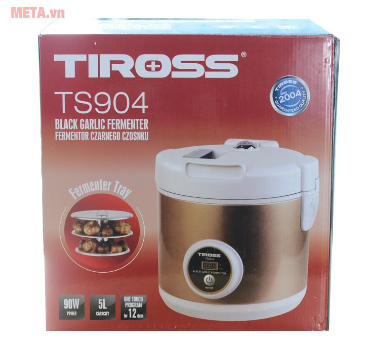 Hộp đựng máy làm tỏi đen Tiross TS904Hộp đựng máy làm tỏi đen Tiross TS904