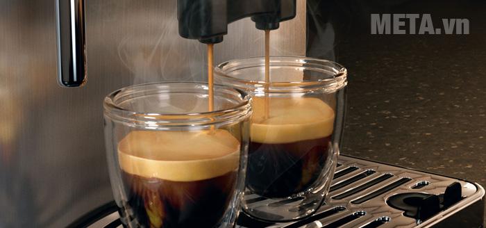 Máy pha cà phê tự động Gaggia Anima Prestige pha được 2 tách cùng lúc