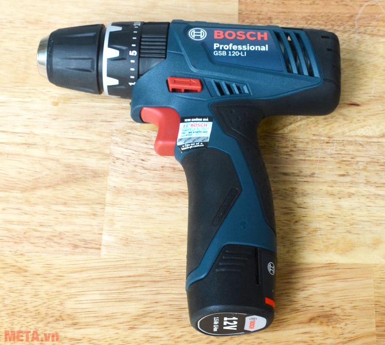 Máy khoan vặn vít động lực dùng pin Bosch GSB 120-LI được ứng dụng trong nhiều lĩnh vực