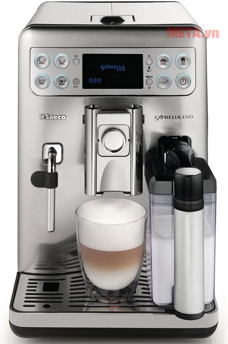 Máy pha cà phê Saeco Aulika Top HSC dễ sử dụng