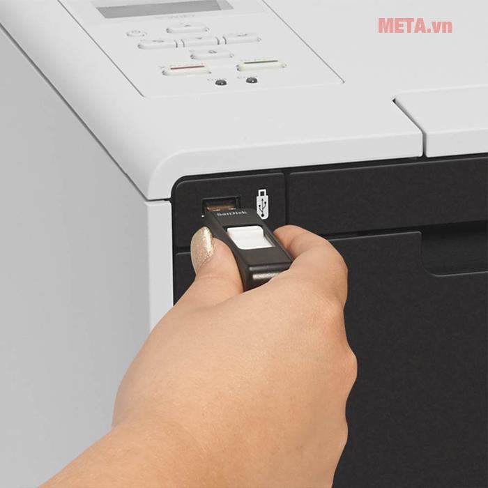 Cổng usb 2.0 tương thích với tất cả các dòng máy có sẵn như máy tính PC hay laptop