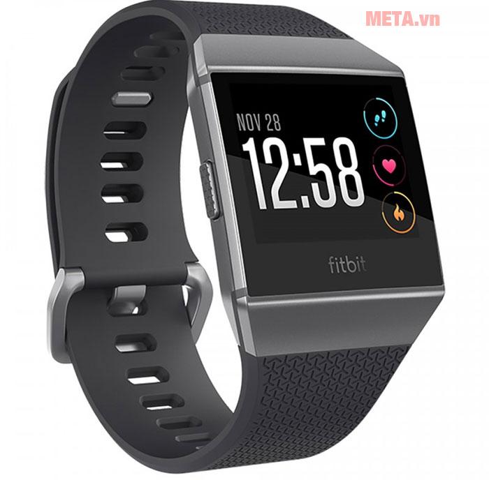 Đồng hồ đeo tay thông minh Fitbit Ionic màu đen