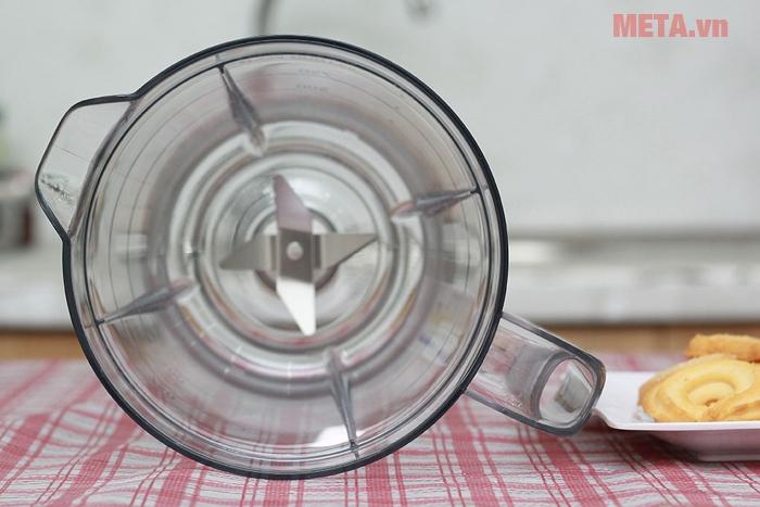 Cối xay bằng chất liệu nhựa cao cấp, kháng vỡ hiệu quả
