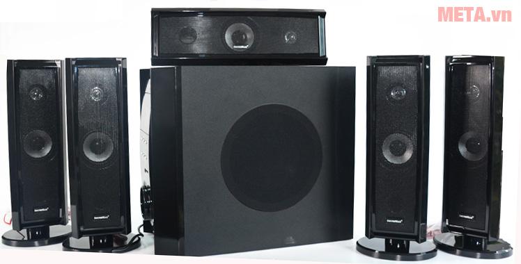 Loa bluetooth SoundMax bluetooth B70 - 5.1 có thiết kế hiện đại