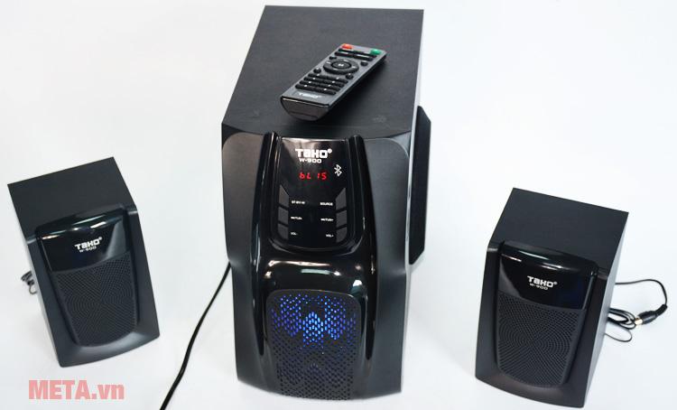 Loa vi tính Tako W900 có màu đen