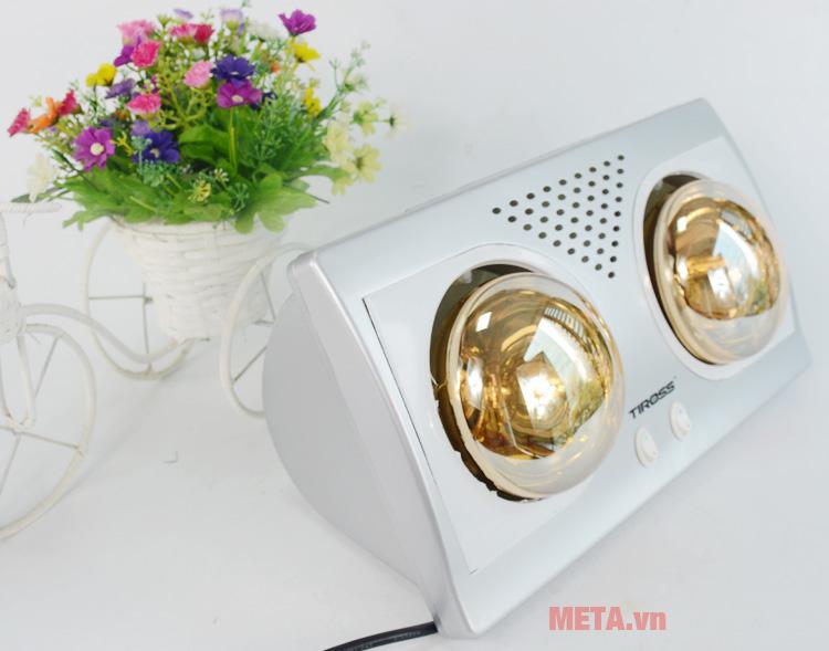 Hình ảnh đèn sưởi nhà tắm 2 bóng Tiross TS9291