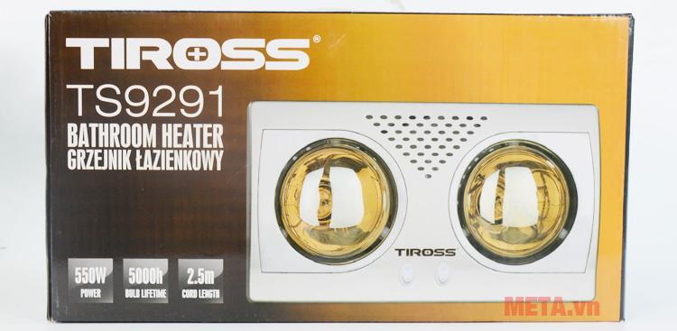 Hộp đựng đèn Tiross TS9291