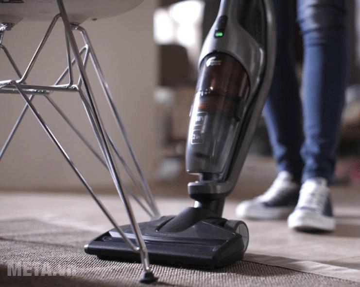 Philips FC6168/01 sở hữu công nghệ TriActive Turbo giúp hút sạch mọi bụi bẩn
