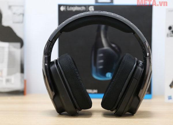 Vòm tai được gia cố bằng chất liệu nhựa cao cấp có độ đàn hồi tốt
