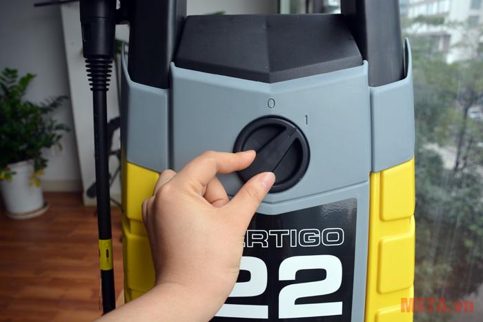 Công tắc on/off của máy rửa xe Lavor Vertigo 22