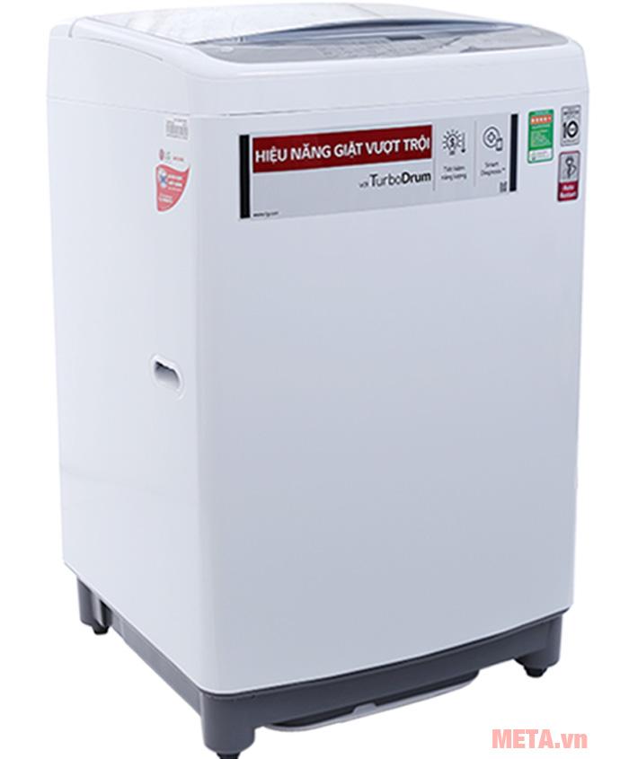 Máy giặt Smart Inverter LG T2350VSAW có khối lượng giặt 10,5 kg