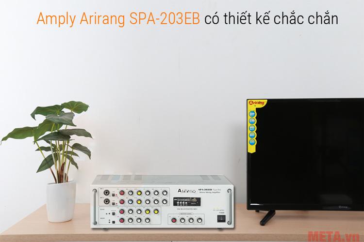 Amply Arirang SPA 203 EB tạo nên không gian nghe nhạc đẳng cấp