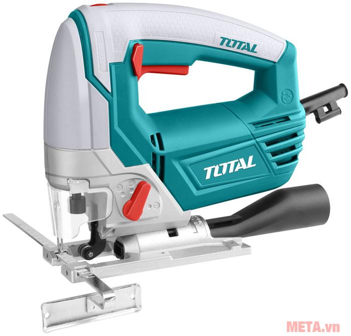 Máy cưa lọng Total có thiết kế nhỏ gọn, dễ dàng điều chỉnh tốc độ cưa, cắt.