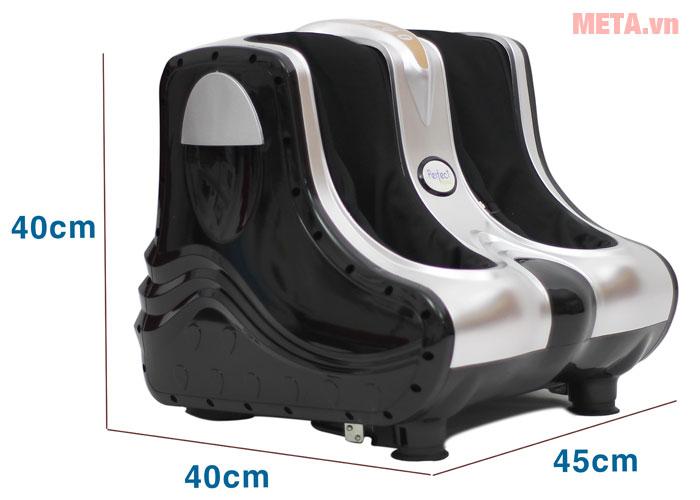 Kích thước máy massage chân