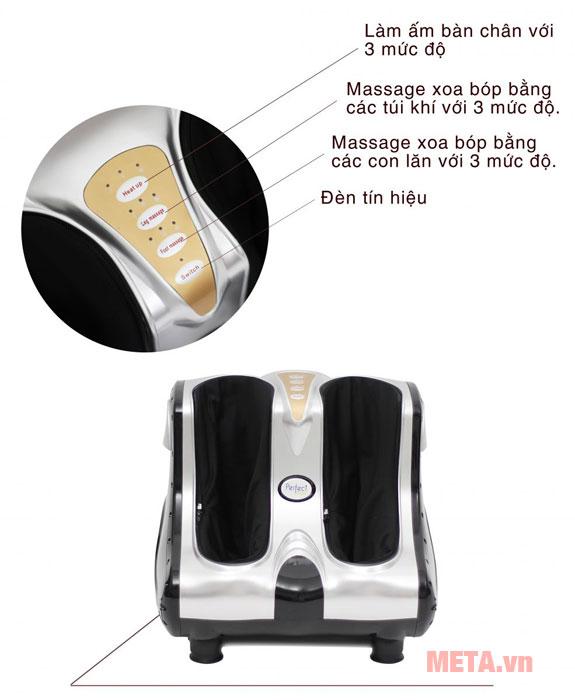Tính năng của máy massage chân
