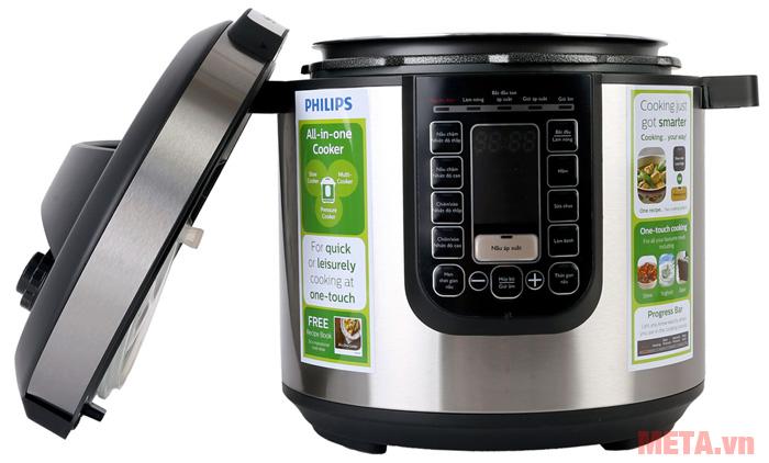 Nồi áp suất điện tử Philips 5 lít HD2137/65
