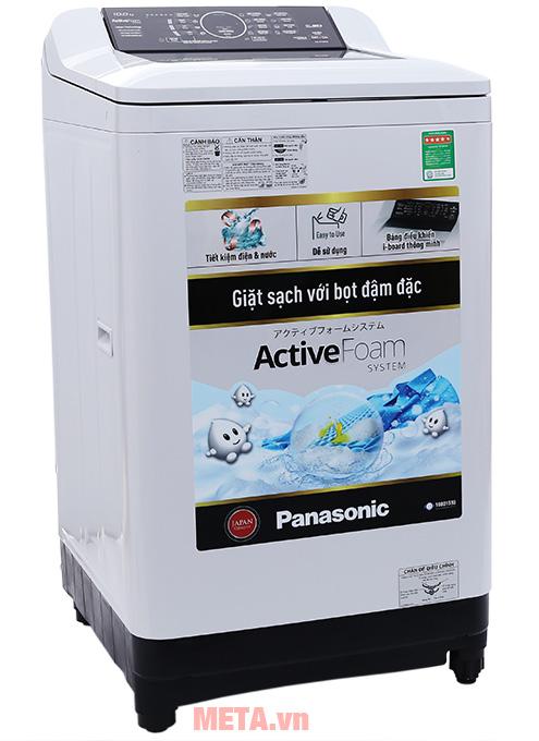 Máy giặt Panasonic 10kg NA-F100A4GRV phù hợp với gia đình 6 thành viên