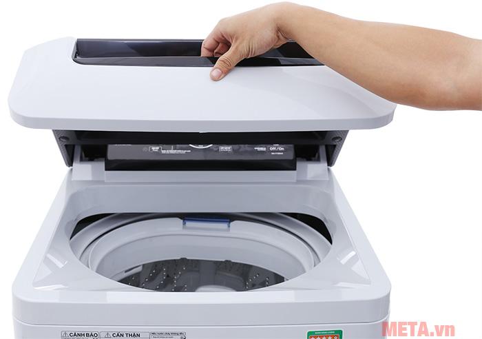 Tay cầm đóng/mở máy giặt dễ dàng