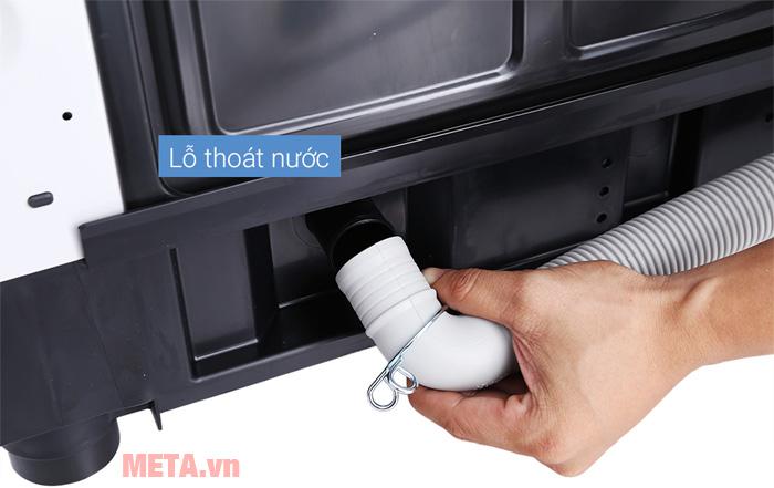 Lỗ thoát nước của máy giặt Panasonic 10kg NA-F100A4GRV