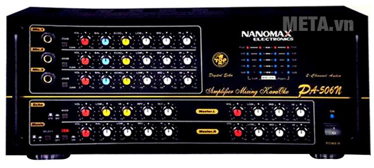 Hình ảnh amply Nanomax PA-506N