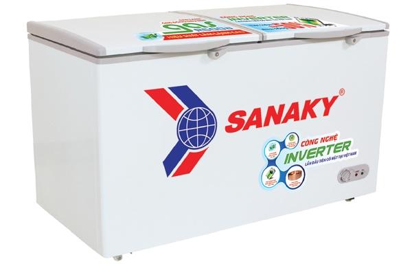 Tủ đông 1 ngăn 2 cánh Inverter Sanaky VH-2599A3 (250 lít)