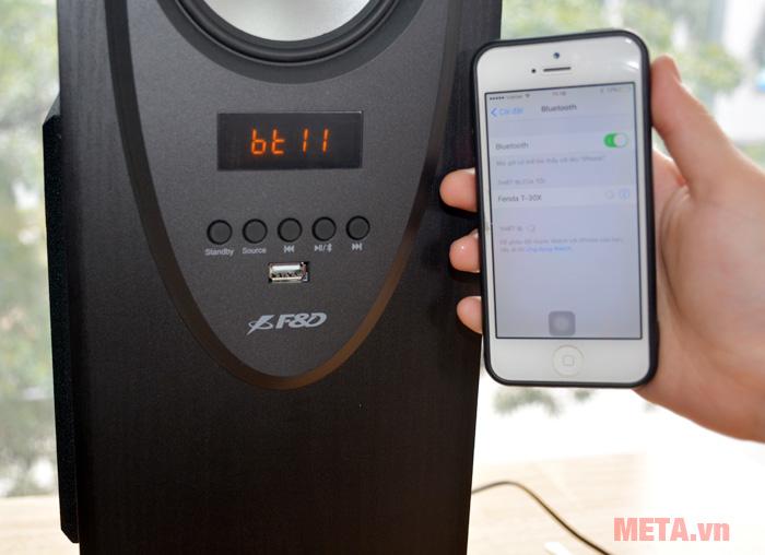 Loa Fenda T-30X 2.0 Bluetooth tương thích với nhiều hệ điều hành