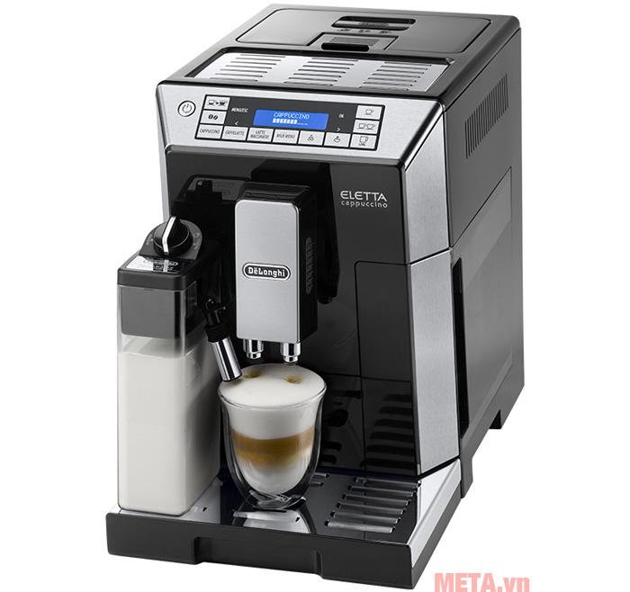 Hình ảnh máy pha cà phê tự động ECAM45.760.B