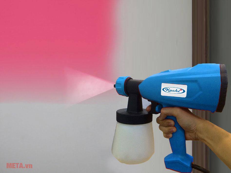 Súng phun sơn dễ dàng sử dụng