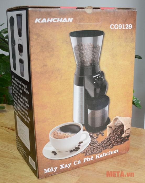 Máy xay cà phê chuyên nghiệp Kahchan CG9129 thiết kế hiện đại