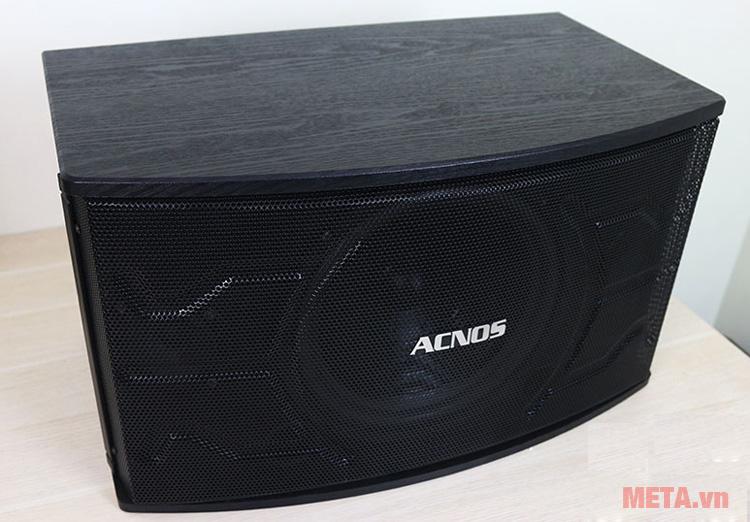 Loa karaoke Acnos SL610 với thiết kế màu đen sang trọng