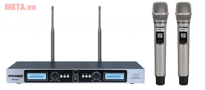 Micro karaoke không dây Artsound Pro Mic1