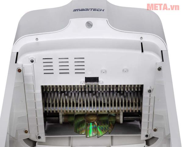 Máy hủy tài liệu Magitech có khả năng hủy được đĩa CD