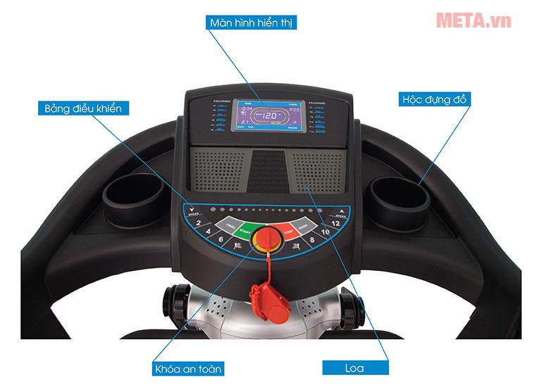 Màn hình hiển thị của máy chạy bộ