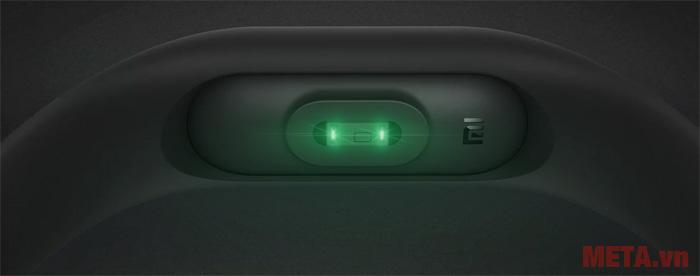 Hình ảnh phần cảm biến của vòng đeo tay thông minh Xiaomi MI
