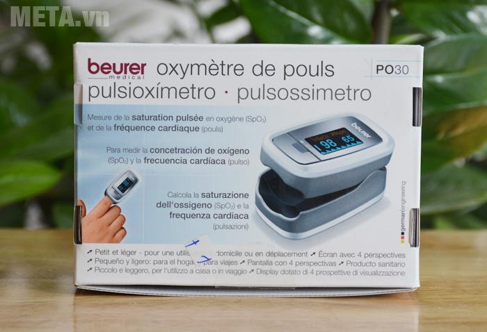 Máy đo nồng độ oxy trong máu tại nhà