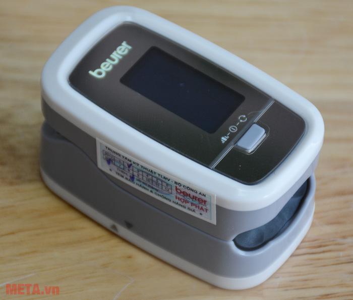 Máy đo nồng độ oxy trong máu có tem chống hàng giả