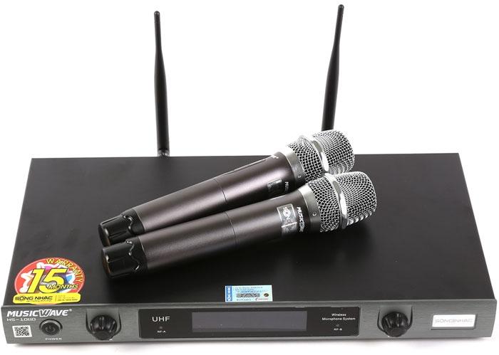 Cặp micro Micro Music Wave HS-1080