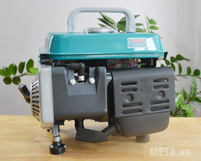 Máy phát điện Total TP18001 chạy xăng pha nhớt