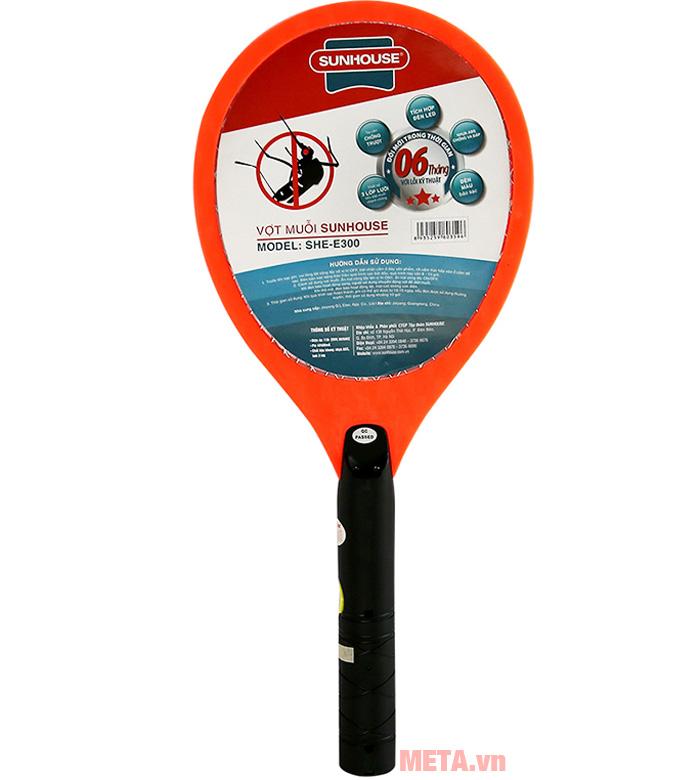 Hình ảnh vợt bắt muỗi Sunhouse SHE-E300
