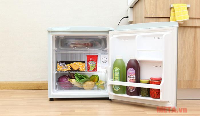 Hình ảnh tủ lạnh Aqua 50 lít AQR-55AR
