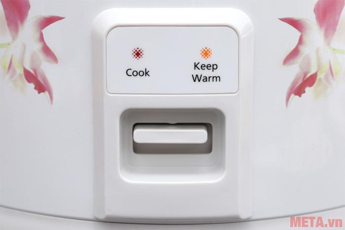Nút nhấn lựa chọn chế độ dễ dàng sử dụng