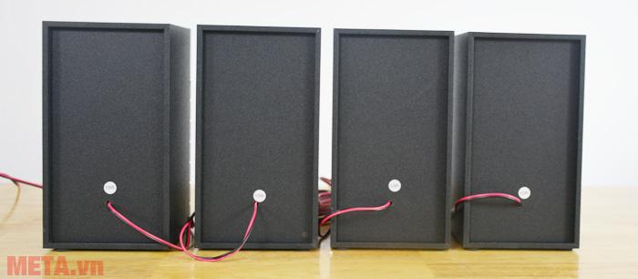 Phía sau loa vệ tinh bluetooth karaoke Soundmax A8920