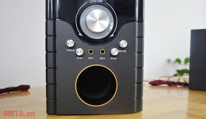Bảng điều chỉnh âm lượng và các âm của loa
